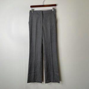 MaxMara gray black trousers wool silk size 6